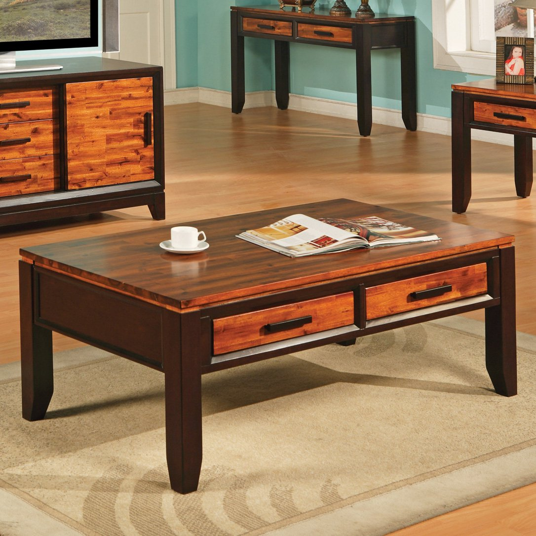 Steve Silver Abaco Storage Coffee Table by Steve Silver