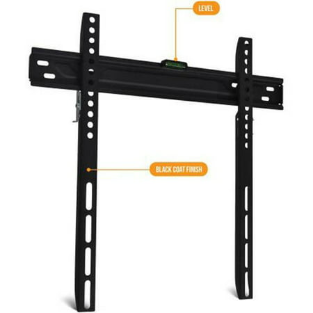 onn. Low-Profile Universal Wall Mount for 19
