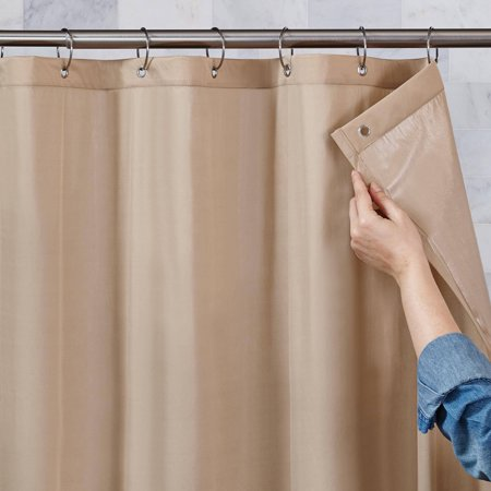 Better Homes And Gardens 100 Percent Waterproof Fabric Shower Curtain Liner