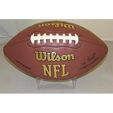 - Brand New ACRYLIC PLASTIC MOLDED FOOTBALL STANDSmooth to the Touch with a Clear Polished Finish. By Collectible Supplies
