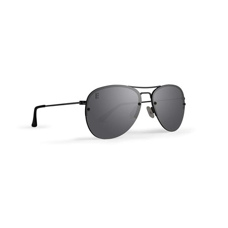 c88653e1251 New Epoch Eyewear Emerson Metal Black Frame With Polarized Lenses Sunglasses