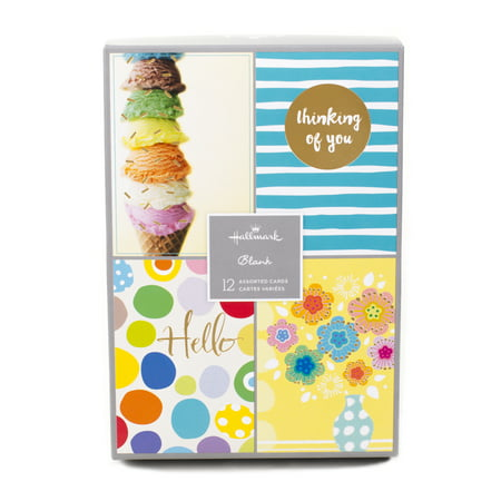 Sei Card (Hallmark Assorted Greeting Card Set (Fun Designs, 12 Cards and Envelopes) )