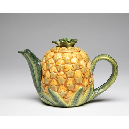 CG Group Cosmos Gifts Pineapple 0.38-qt. Teapot