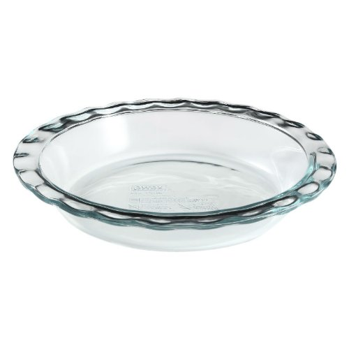 Pyrex 9-1/2 Easy Grab Pie Plate, Ship from USA,Brand Worl...