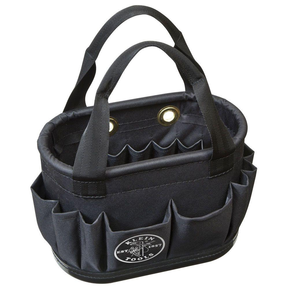 Klein Tools Hard Body Aerial Bucket Heavy Duty Tool Bag Pouch Belts Box Storage by Klein Tools