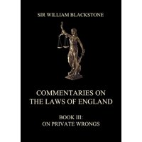 Commentaries on the Laws of England - eBook