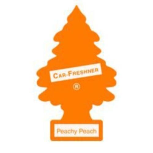 Little Tree Car Air Freshener, Peachy Peach, One Per Pack