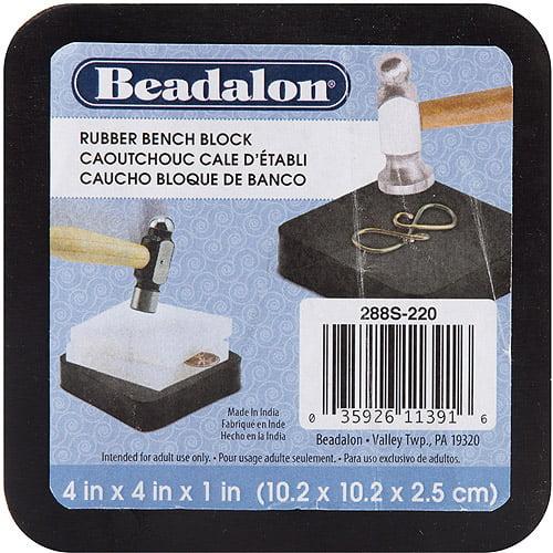 Rubber Bench Block 4 Inch X 4 Inch