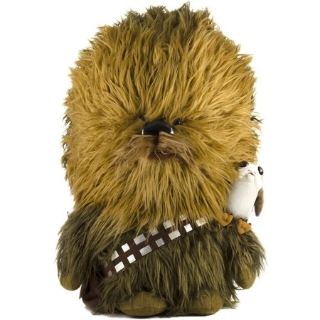 Star Wars Talking Chewbacca & Porg Plush - 24