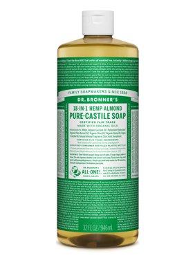 Dr. Bronner's Almond Pure-Castile Soap - 32 oz