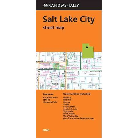 Rand McNally Salt Lake City, Utah Street Map (Other)](Costume Shop Salt Lake City)