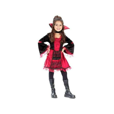 Childs Sassy Victorian Vampiress Costume