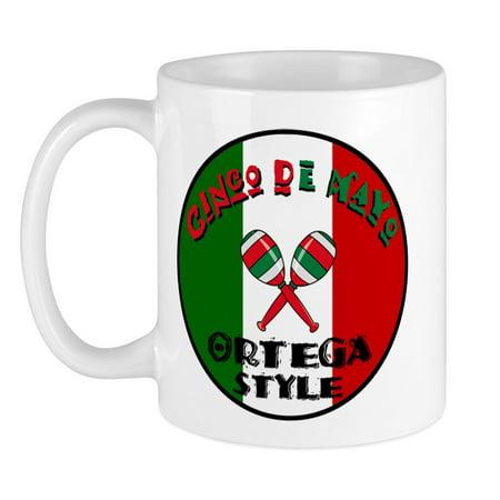 CafePress - Ortega Cinco De Mayo Mug - Unique Coffee Mug, Coffee Cup CafePress (Cinco De Mayo Dog)