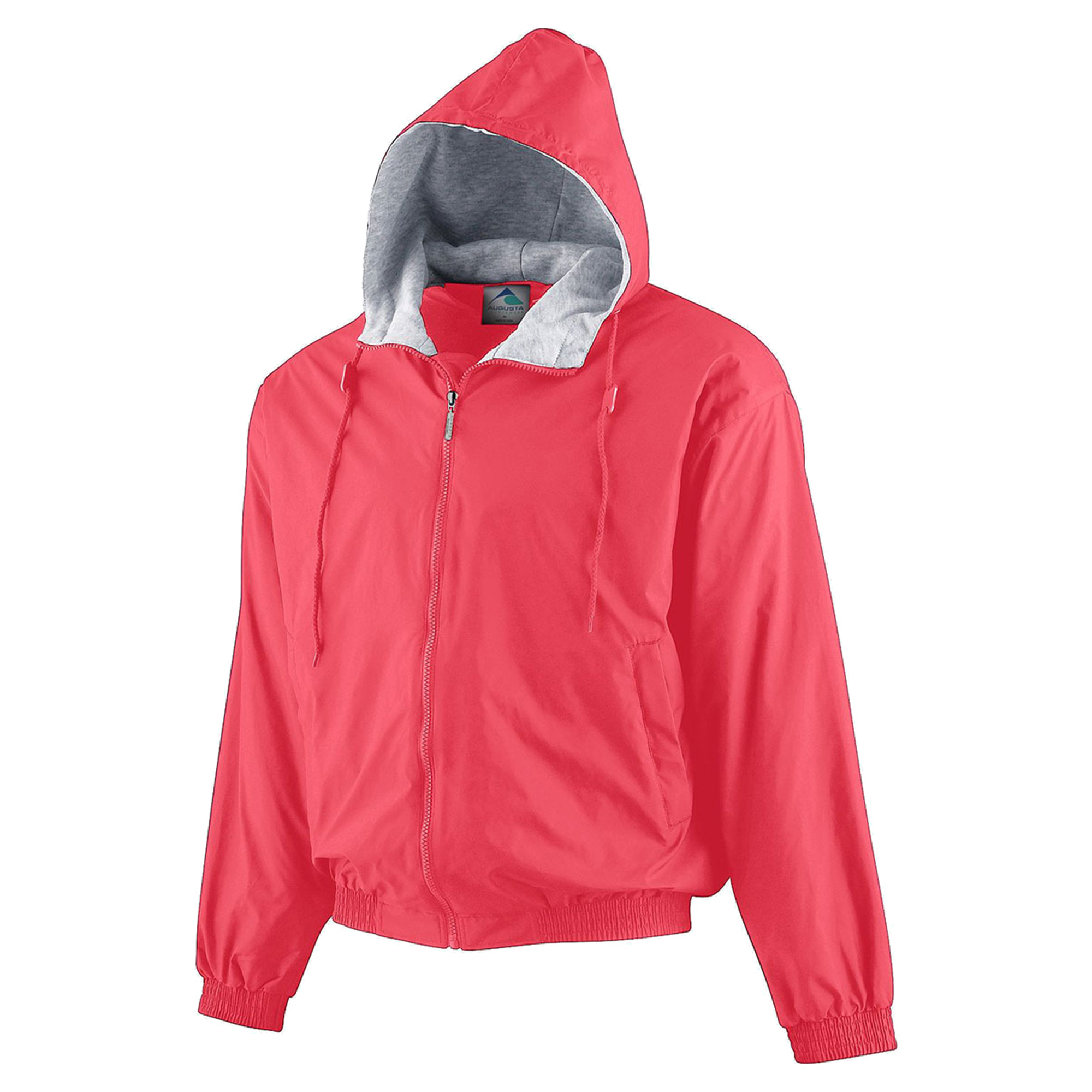 Augusta Sportswear Youth Hooded Taffeta Fleece Lined Jacket