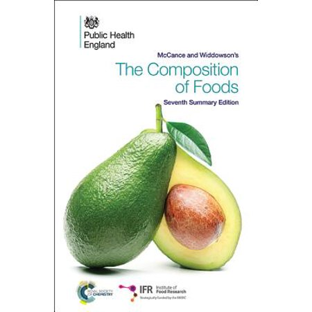 McCance and Widdowson's the Composition of Foods : Seventh Summary