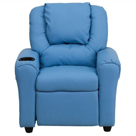 Bowery Hill Kids Recliner in Light Blue - image 4 of 5