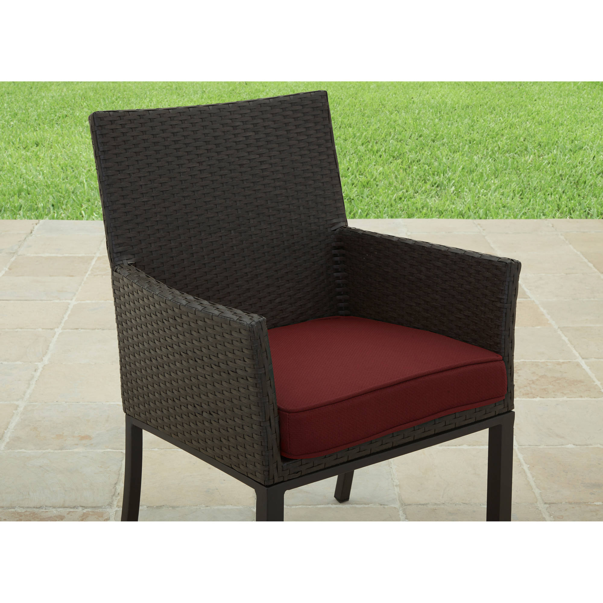Better Homes and Gardens Rush Valley Outdoor Dining Chair, Set of 6