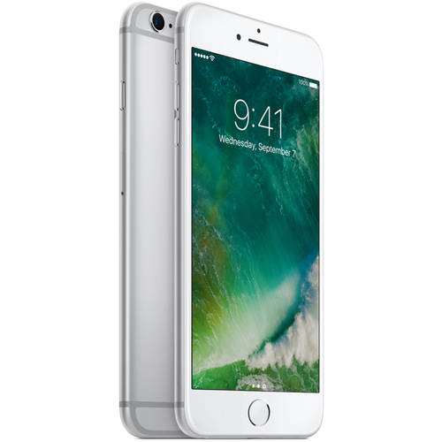 Refurbished Apple Iphone 6s Plus 128gb Silver Unlocked Gsm