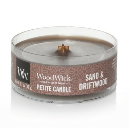WoodWick Sand & Driftwood - Petite Candle