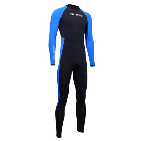 SLINX Unisex Full Body Diving Swimming Surfing Spearfishing Wet Suit UV Protection Snorkeling Surfing Swimming Suit