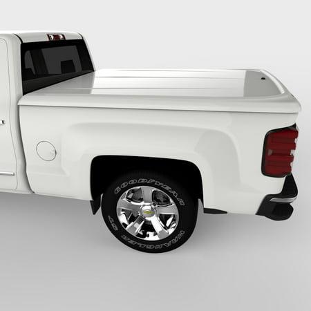 UnderCover UC1126L-50 Tonneau Cover LUX SE Series Tilt-Up; Lockable; Olympic White - Vehicle Color Code 50 (WA8624); ABS Composite Material - image 1 de 1