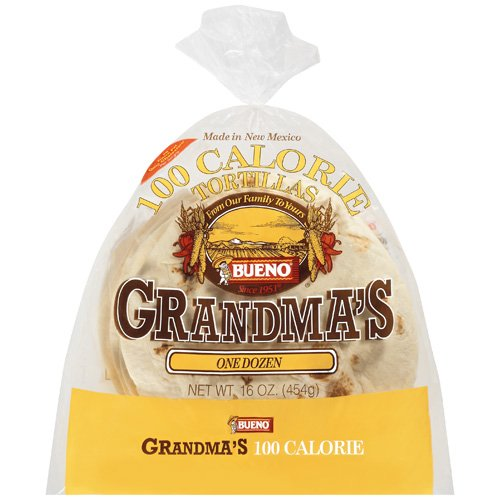 Bueno Grandma's 100 Calories Tortillas, 16 oz