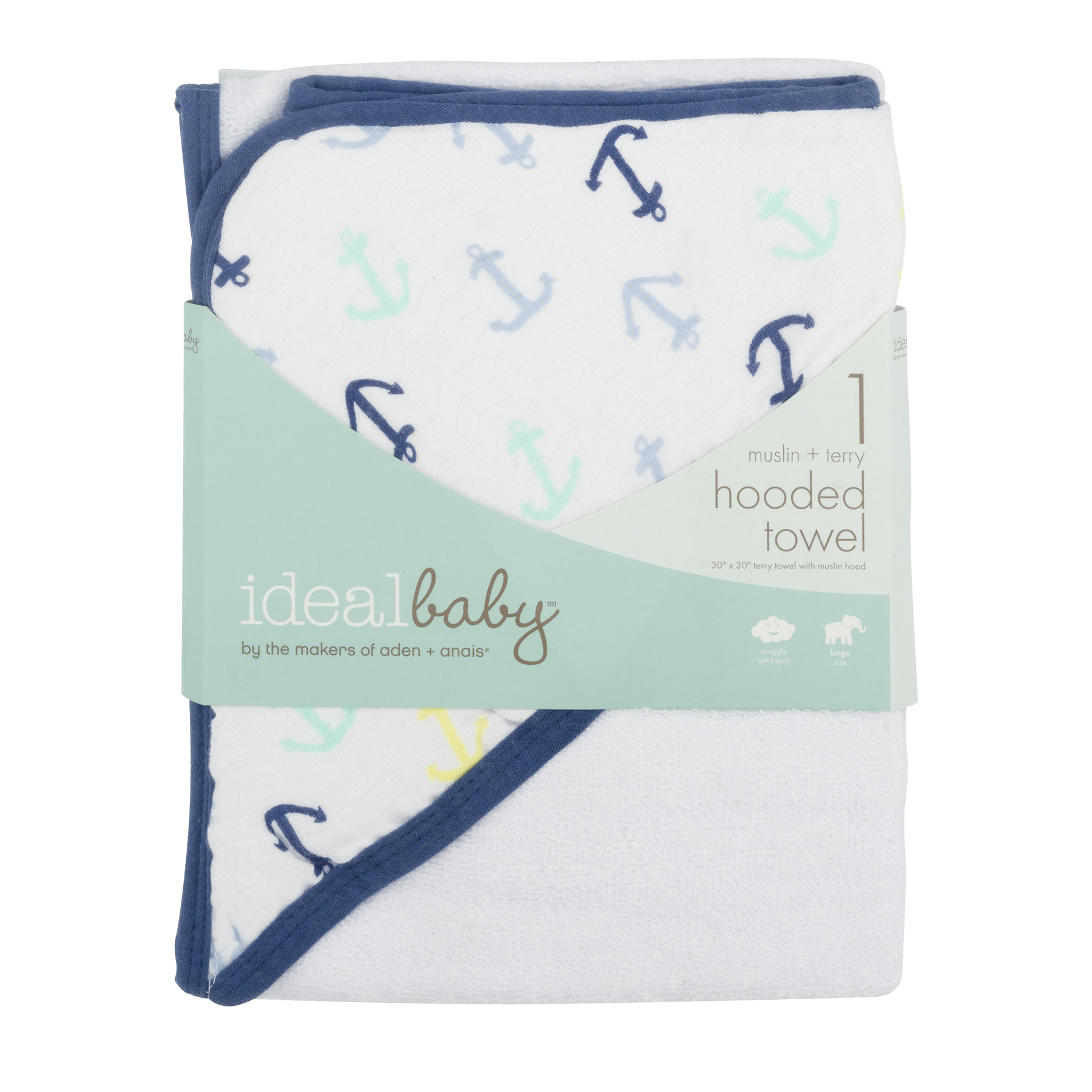 ideal baby by the makers of aden + anais Hooded Towel, Dreamy