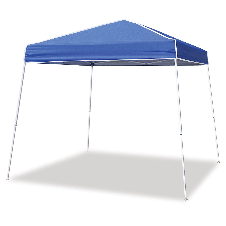 Z-Shade 12' x 12' Horizon Angled Leg Instant Shade Canopy Tent Shelter, Blue by Z-Shade