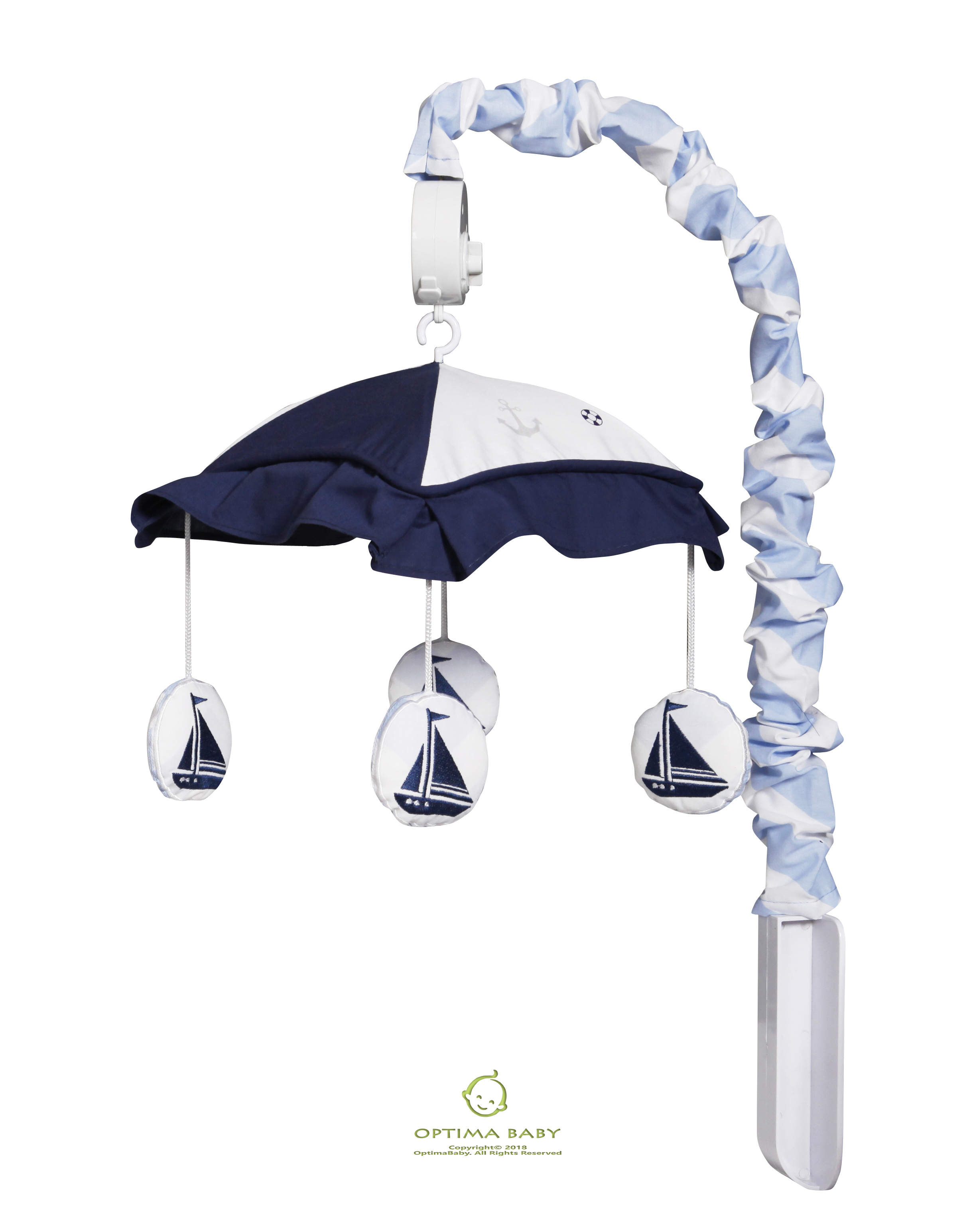 Click here to buy OptimaBaby Nautical Explorer Sailor Musical Mobile by OptimaBaby.