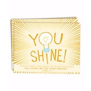 Notecards-Shine! (Pack Of 10)