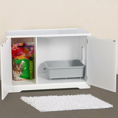 Small Space Hidden Litter Box Solutions For Cat Parents