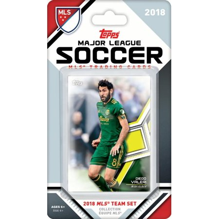 Portland Timbers 2018 Topps MLS Soccer Factory Sealed 7 Card Team Set with Diego Valeri and Sebastián Blanco (Factory Sealed Set)