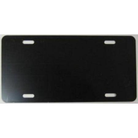 Little Earth License Plate Purse (0.040 Blank Black Glossy 6