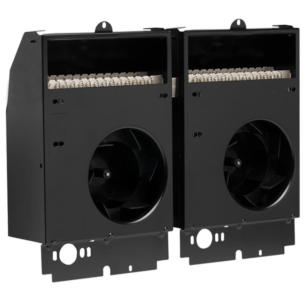 Cadet CST402 13650 BTU 208/240 Volt 4000 Watt Twin Fan-Forced Electric In-Wall Heater Assembly from the Com-Pak Twin Plus Series