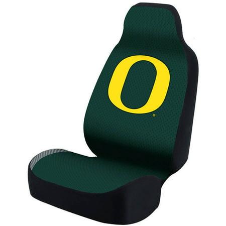 Coverking Universal Seat Cover Designer, University Of Oregon, Green Weave Stripe Bottom (Coverking Dash Cover)