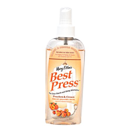 Best Press Clear Starch Alternative Peaches and