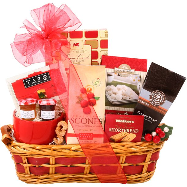 Alder Creek Christmas Morning Breakfast Gift Basket, 9 pc ...