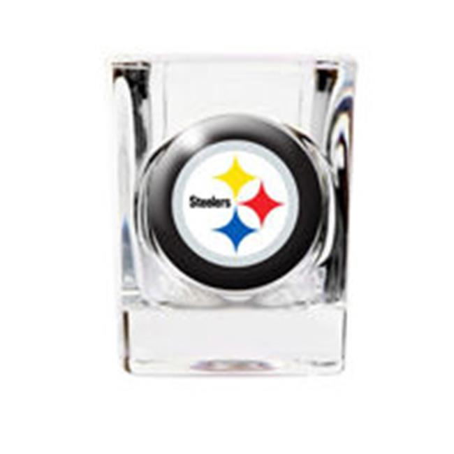 JDS Marketing and Sales BL648steelers Pittsburgh Steelers Shot Glass