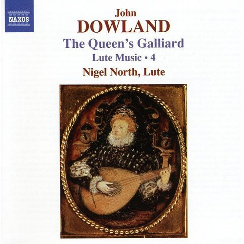 J. Dowland - Dowland: The Queen's Galliard -  Lute Music, Vol.  4 [CD]