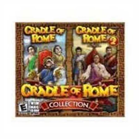 Brand New Cradle Of Rome Collection 1 & 2 (Works With: WIN 2000,XP,VISTA,WIN 7) (Support System Win Xp)