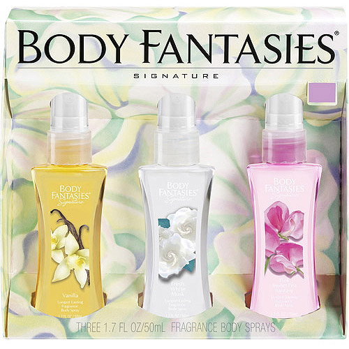 Designer Imposters Women's Fragrance Body Sprays Gift Set, 3 pc