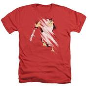 Samurai Jack Slice And Dice Mens Heather Shirt