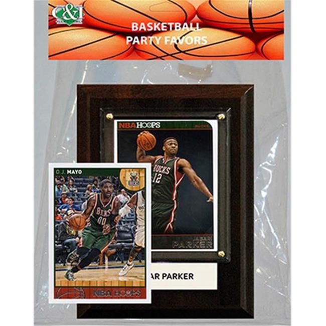 Candlcollectables 46LBBUCKS NBA Milwaukee Bucks Party Favor With 4 x 6 Plaque