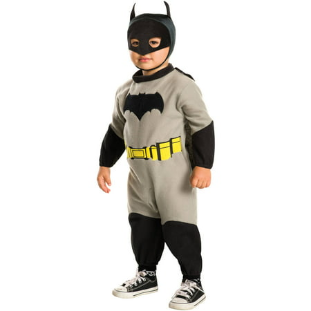 Batman Ez-On Romper Toddler Halloween Costume - Toddler Batman Halloween Costumes