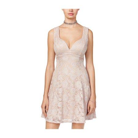 cf41b073b Emerald Sundae - Emerald Sundae Womens Lace Fit & Flare Dress - Walmart.com