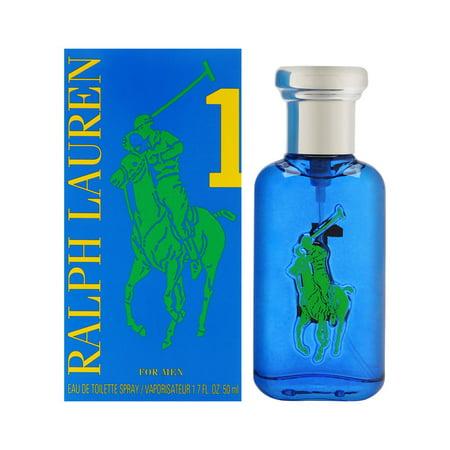 Big Pony Blue #1 By Ralph Lauren Eau de Toilette Spray 1.7 oz For Men (Big Cologne)