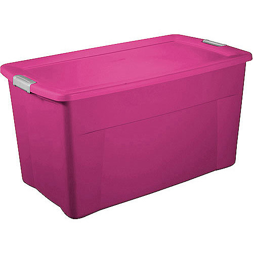 Sterilite 35 Gallon 140 Quart Latch Storage Box Set of 4