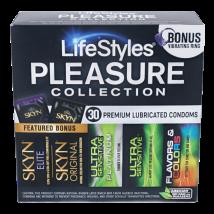 Condoms: LifeStyles Pleasure Pack
