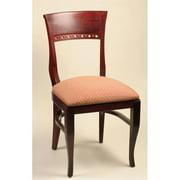 Alston Quality 3650-CHY-American Beauty Biedermeier Chair Cherry Frame