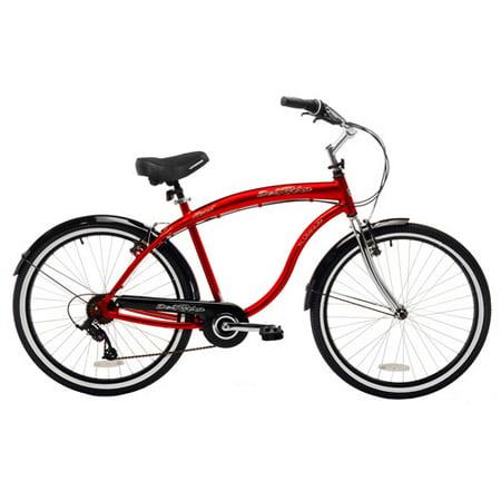 26 Kent Del Rio Men S Cruiser Bike Red